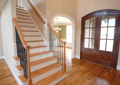 Перила для лестниц как делать